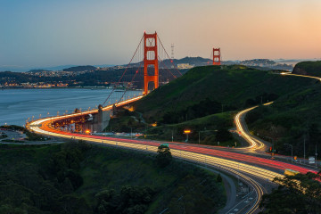 USA Reise: Golden Gate Bridge