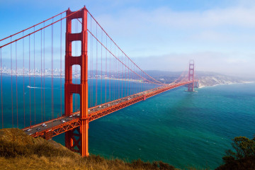 USA Reise: San Francisco Golden Gate Bridge