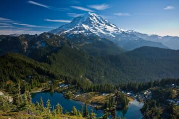 USA Reise Mount Rainier