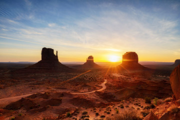 Motorrad-Reise USA - Monument Valley