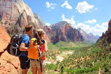 USA Reise: Wandern im Zion Nationalpark
