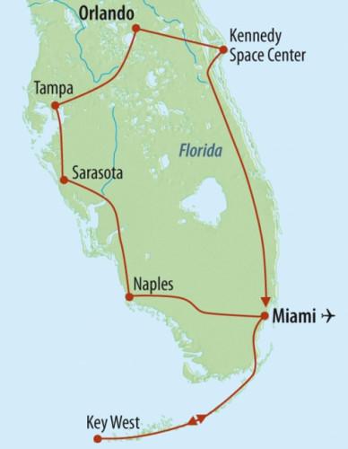 Florida rundreise 7 tage