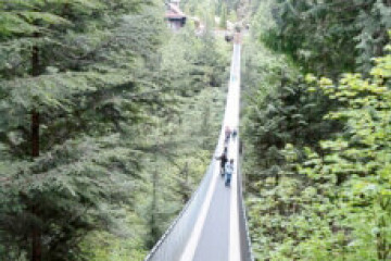 Vancouver, Capilano Suspension Bridge ©Meso Reisen, T. Lindemann