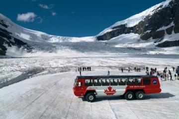 Columbia Icefield, Icefield Explorer ©Travel Alberta