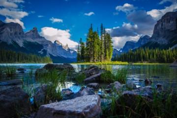 Jasper Nationalpark, Maligne Lake ©Travel Alberta