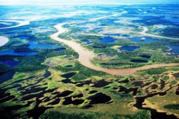 Mackenzie Delta, nahe Inuvik ©NWT Tourism, Terry Parker