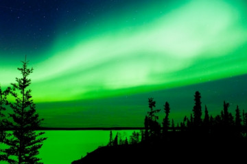 Nordlichter ©NWT Tourism, Jean-Francois Bergeron