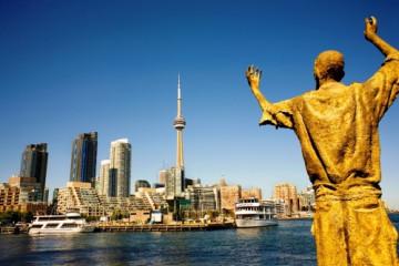 Toronto Skyline, Ontario, Kanada