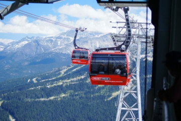 Peak to Peak Gondel in Whistler