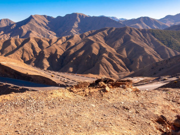Marokko Reise - Atlas Mountains