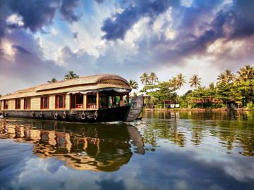Indien Reise: Hausboot