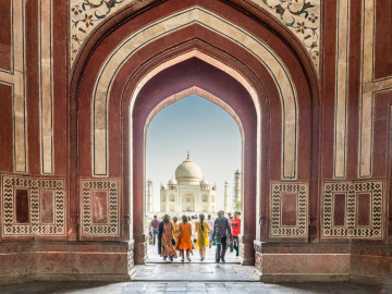 Indien Reise: Taj Mahal