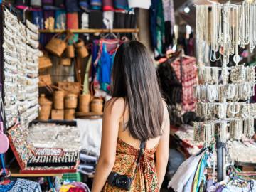 Reise Indonesien: Ubud Markt auf Bali