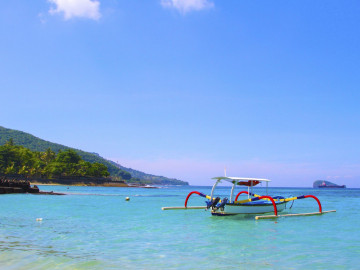 Reise Indonesien: Candidasa Beach auf Bali