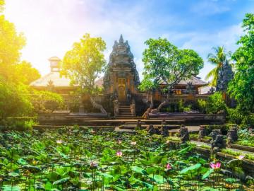 Indonesien Reise: Pura Saraswati Tempel - Bali