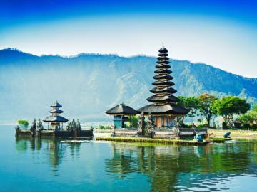 Indonesien Reise: Pura Ulun Danu Bratan - Wassertempel auf Bali