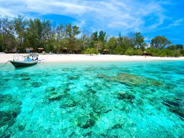 Indonesien Reise: Strand - Gili Inselkette