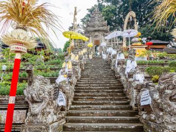 Indonesien Reise: Pura Kehen - Bali