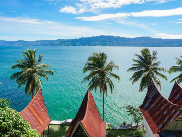 Indonesien Reise Sumatra: Insel Samosir im Tobasee