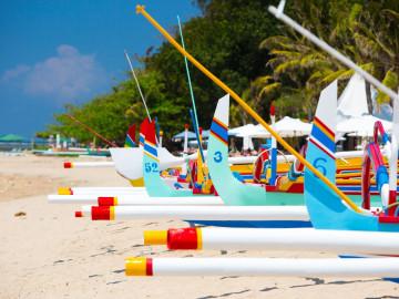 Reise Indonesien: Sanur Beach - Bali