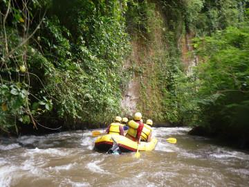 Bali Reise - Rafting Tour