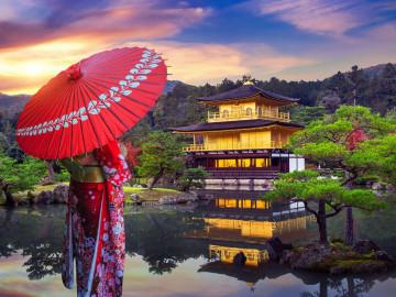Japan Reise: Kinkakuji Tempel