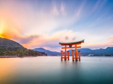 Japan Reise: Itsukushima-Schrein