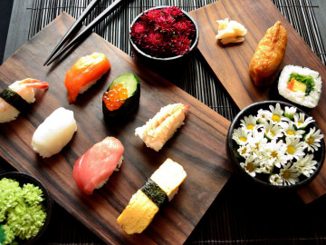 Japan Rundreise: Sushi - Essen