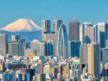 Japan Reise: Tokyo Skyline