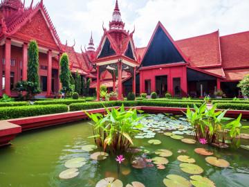 Kambodscha Reise: Phnom Penh - Nationalmuseum