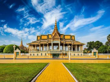 Kambodscha Reise: Phnom Penh - Royal Palace