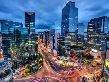 Südkorea Reise: Downtown Seoul