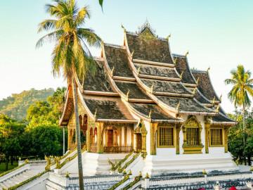 Reise Laos: Luang Prabang - Wat Xieng Thong