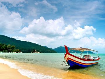 Reise Malaysia: Strand - Penang Island