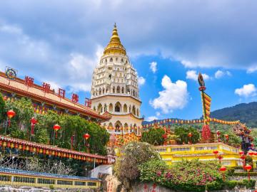 Reise Malaysia: Kek Lok Si Tempel - Penang