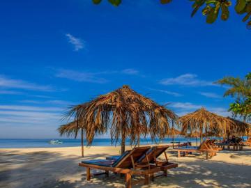 Myanmar Reise: Banden am Ngapali Beach