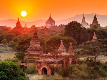 Tempelanlage Bagan in Malaysia