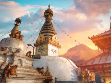 nepal kathmandu sehenswürdigkeit