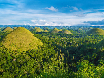 Philippinen Reise: Chocolate Hills Bohol