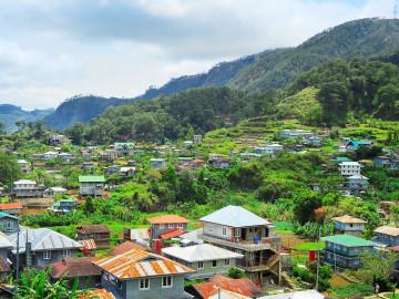 Reise Philippinen: Dorf in den Cordillera Mountains auf Luzon