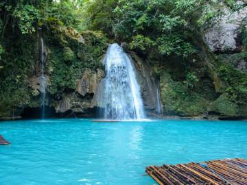 Philippinen Urlaub: Kawasan Falls - Insel Cebu