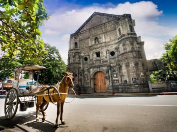 Philippinen Urlaub: Malate Church in Manila