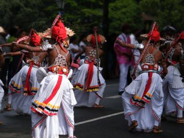 Reise Sri Lanka: kultureller Tanz in Kandy
