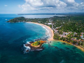 Sri Lanka Reise: Mirissa Strand