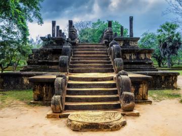 Sri Lanka Reise: Polonnaruwa Tempel