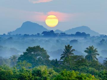 Sri Lanka Reise: Berge und Landschaft
