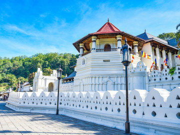 Reise Sri Lanka: Kandy Zahntempel
