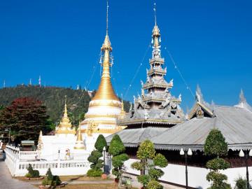 Thailand Reise: Temple Chong Klang und Chong Kham in Mae Hong Son