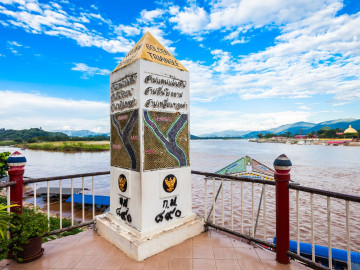 Thailand Reise: Goldenes Dreieck - Mekong River