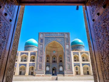 Usbekistan Reise - Mir-Arab-Madrasa